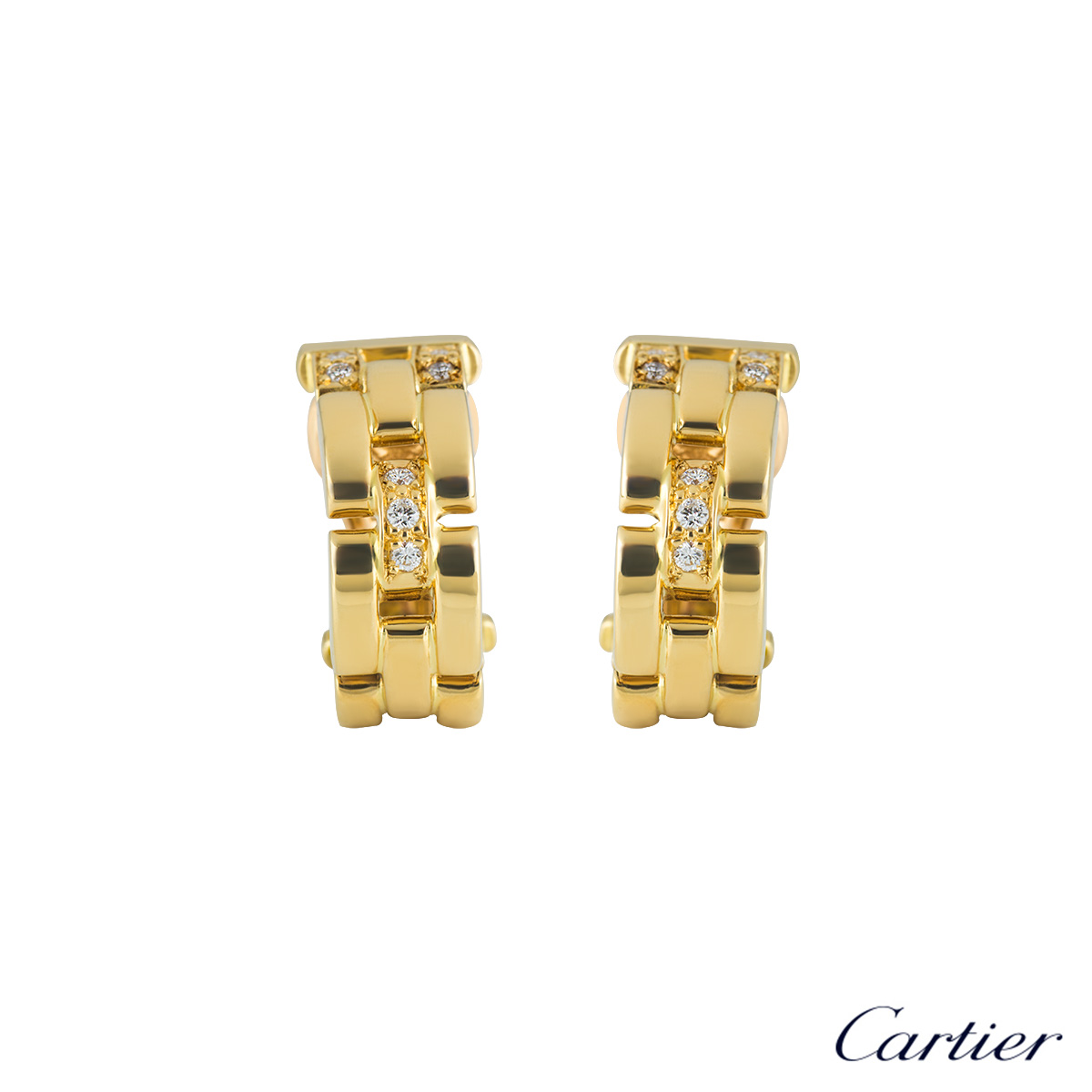 c46036c2948a3 Cartier Panthere Earrings